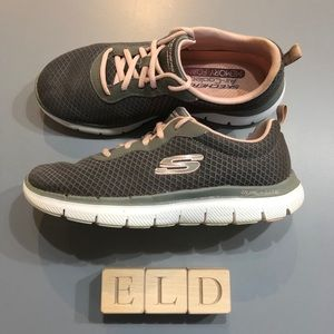 Skechers Lite-Weight Dual Lite Memory Foam Shoes